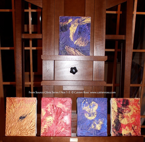 Catrien Ross Glints Series I, Nos. 1-5
